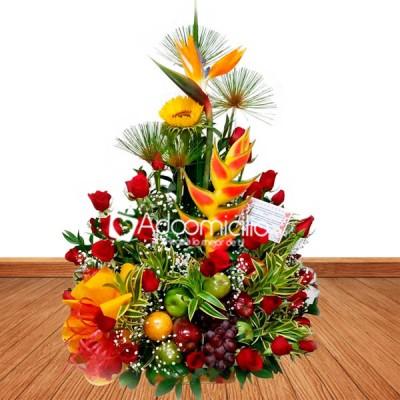 Arreglos Florales A Domicilio En Medellin Flores Y Frutas